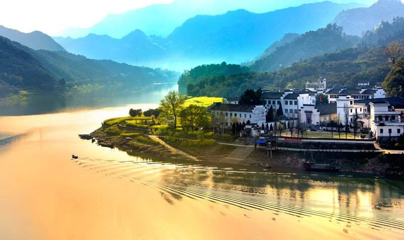 新安江山水画廊(千岛湖北岸)半日游