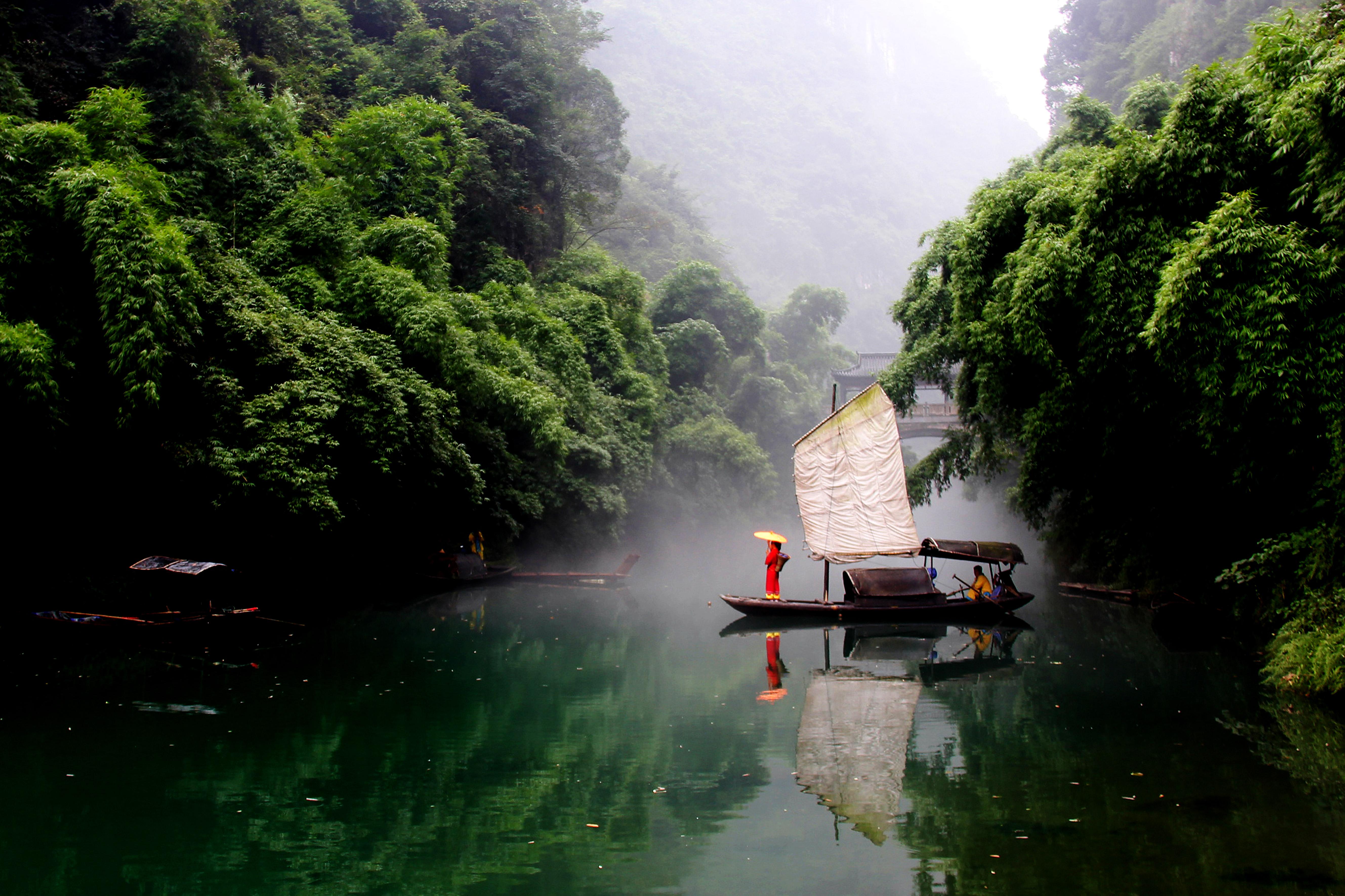 三峡人家一日游(早9点50三峡游客中心出发)